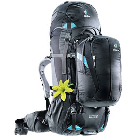 Deuter Quantum 60 + 10 SL Backpack Damen black-turquoise